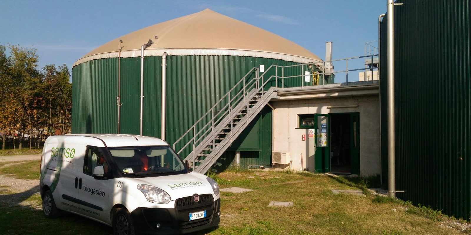 manutenzione impianti biogas